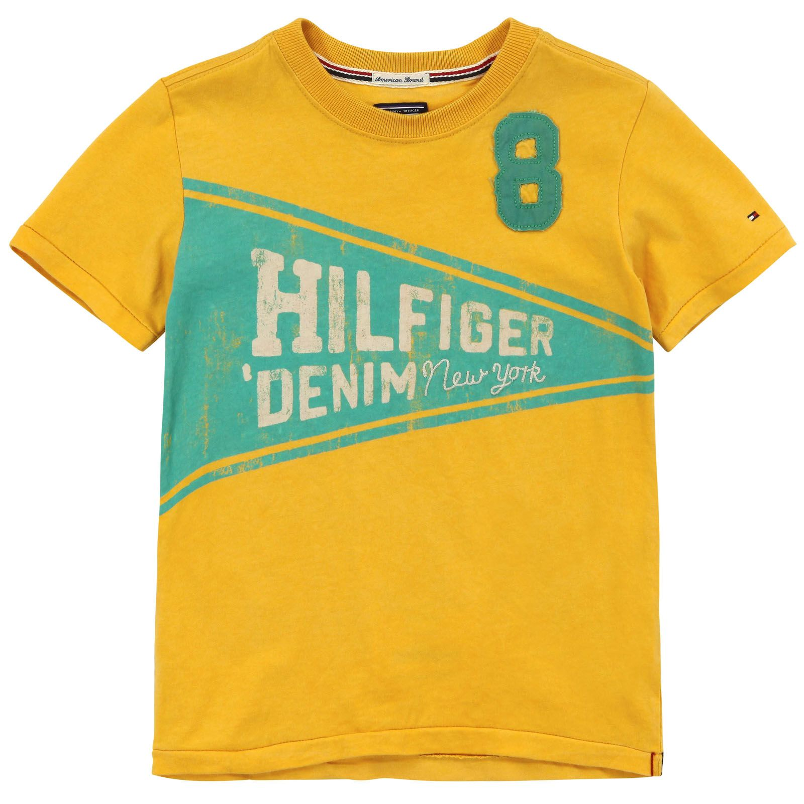 Tommy Hilfiger Honey yellow T-shirt Yellow - 58891 | Melijoe.com