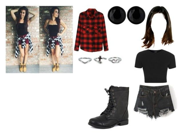 """""""Day with Christina"""" by cavallaro ❤ liked on Polyvore featuring Topshop, Oasis, NLY Accessories and Pierre Dumas"""