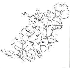 flower. Glass Painting PatternsCraft ...
