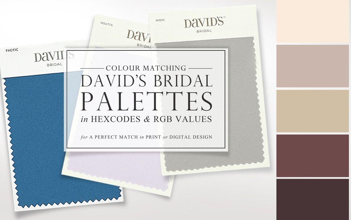 Website rgb colors - David S Bridal Color Palette Hexcodes Rgb Values Faire Li If You Want