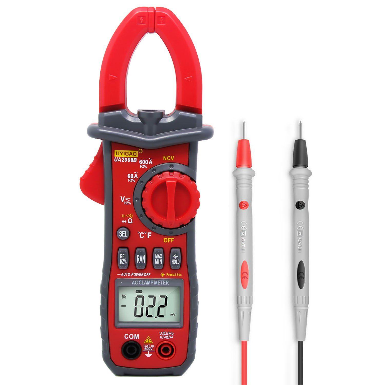 Electrical Digital Multimeter Testing,UYIGAO Clamp Meter, AC Current ...