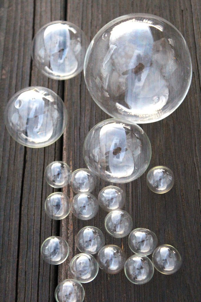 Floating Glass Bubbles From 3 Perfect For A Centerpiece Or