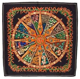 Photo of In the Land of Spices Silk Scarf