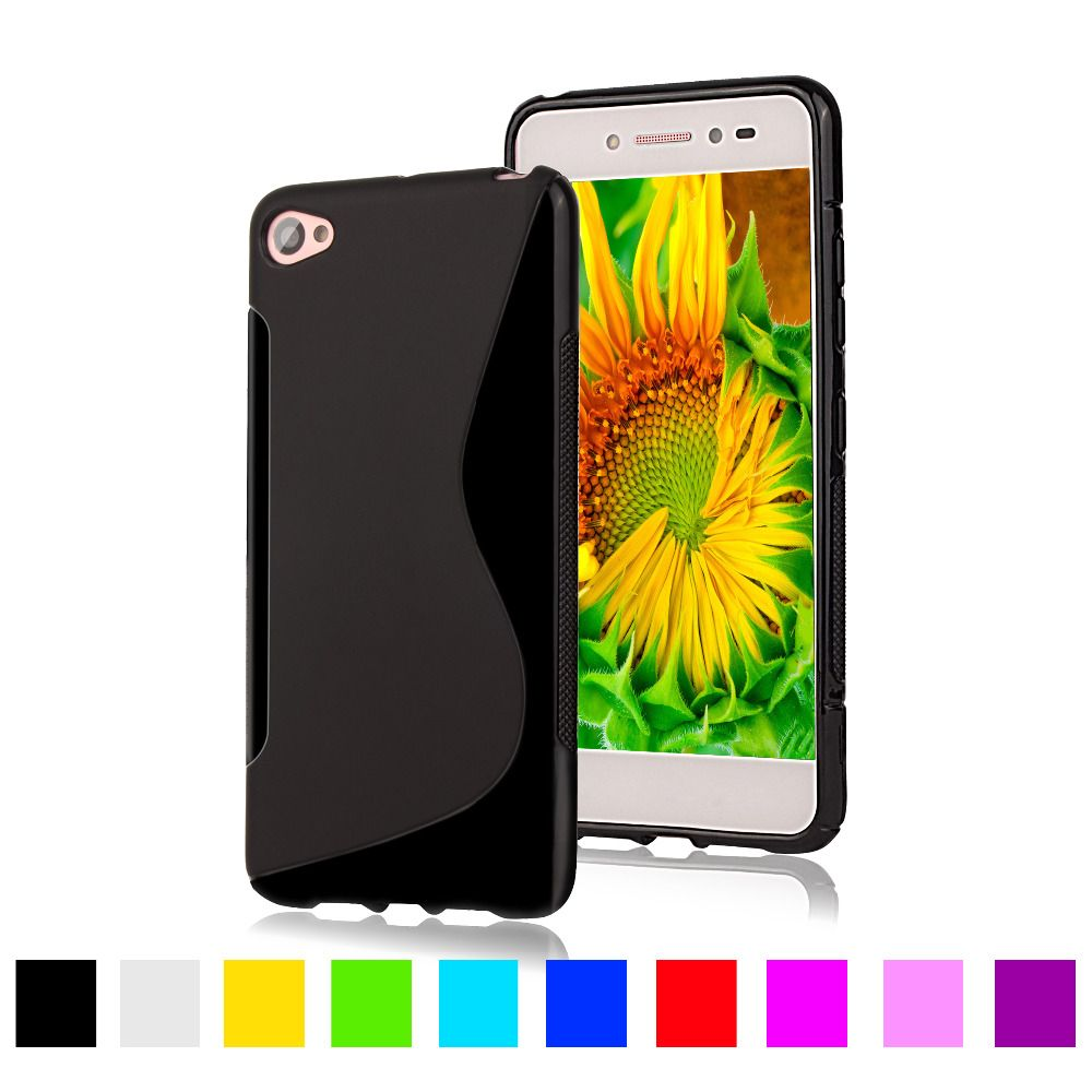 """For Lenovo S90 S LINE Silicone Gel TPU Soft Case For Lenovo S90 5.0"""" Plastic Rubber Matte Back Cover Mobile Phone Protective Bag"""