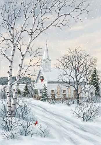 christmas scenes #christmas kathy glasnap painting