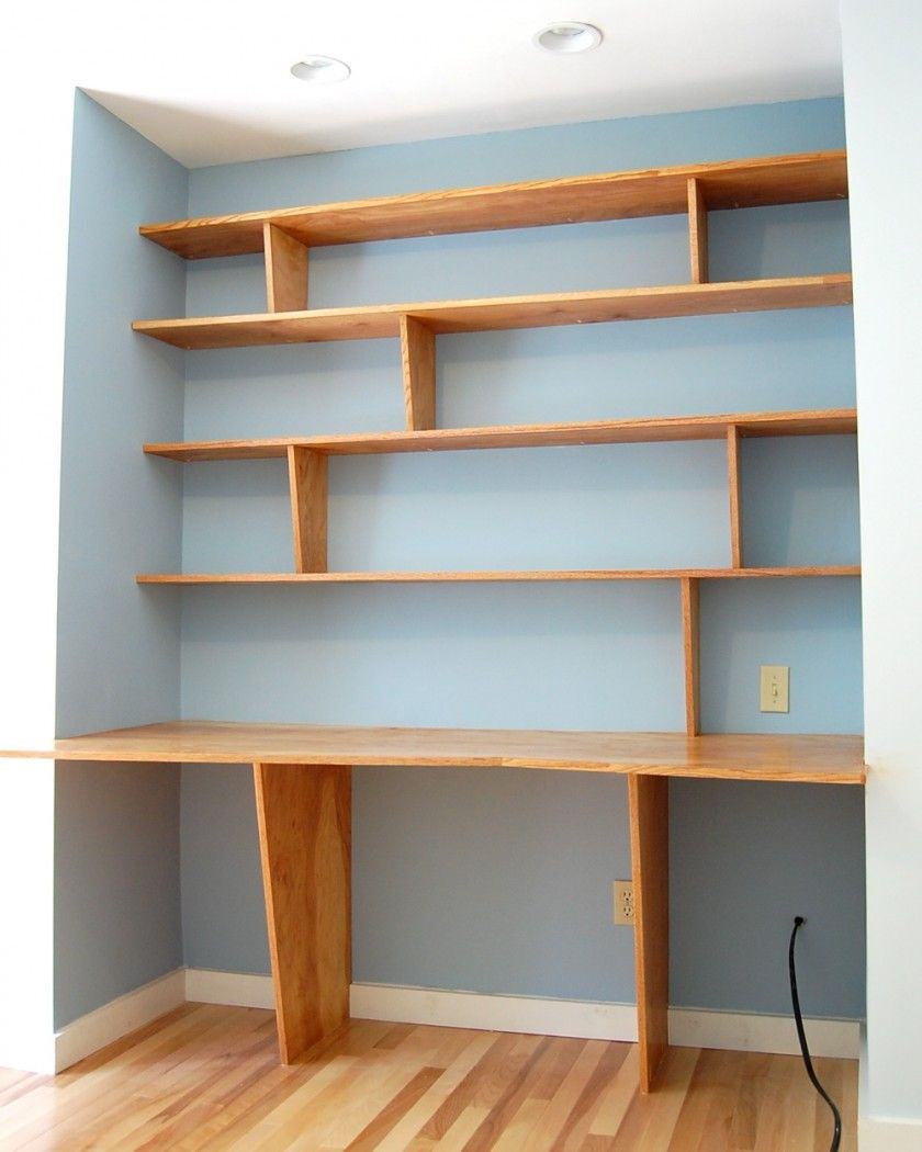 Engaging Home Interior Decoration With Various Cool Wooden Shelves