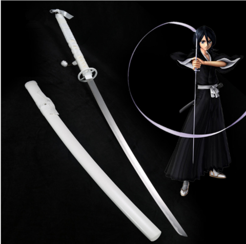 Bleach Rukia Kuchiki Zanpakuto - Real Steel Sword    https://the-gift-shack.com/collections/bleach/products/bleach-rukia-kuchiki-real-steel-sword