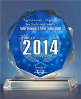 PegStilts.com Best Of Portland Award 2014:   http://www.pegstilts.com/pegstilts/testimonials.html