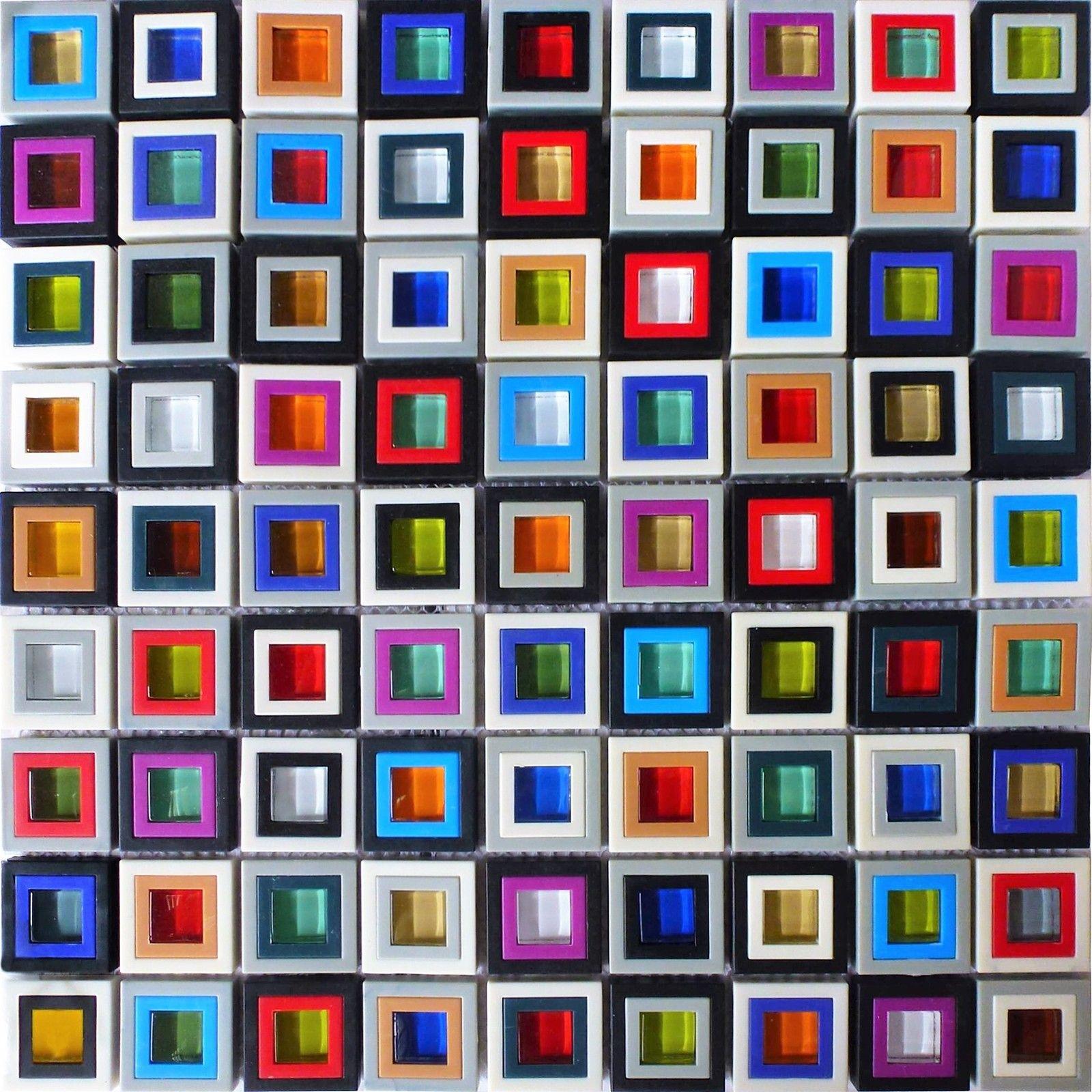 Idea By Rose Young On Mosaics Glass Mosaic Backsplash