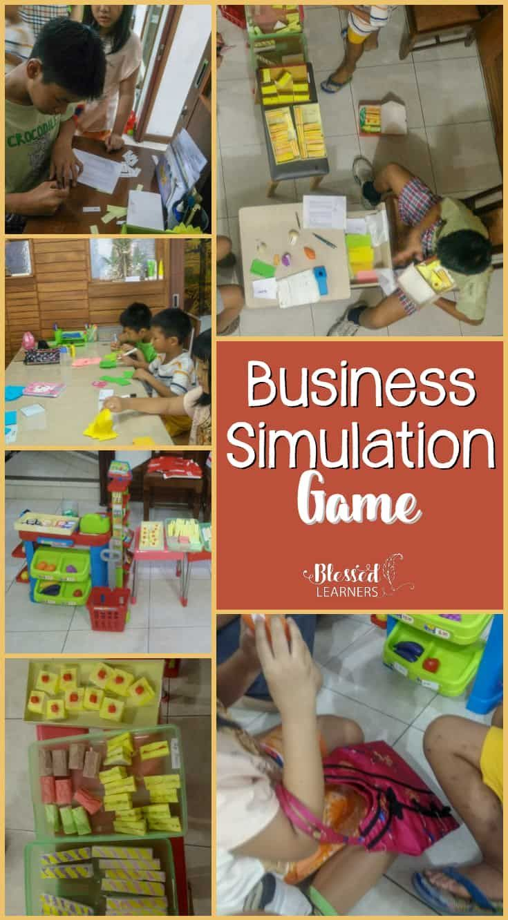 The Business Simulation Game for Children Business