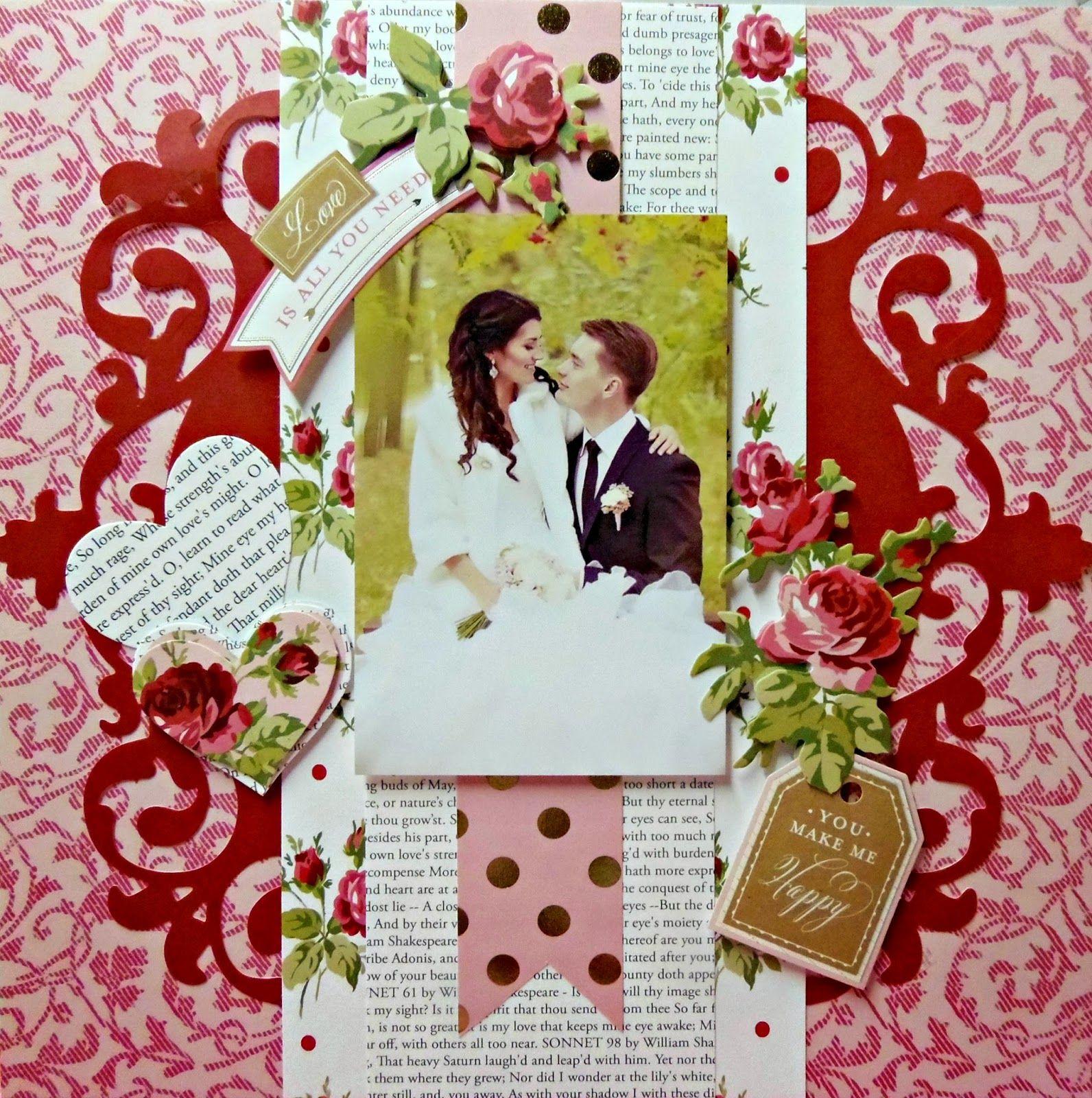 Juliet scrapbook ideas - My Pieces Of Time Anna Griffin S Juliet Collection