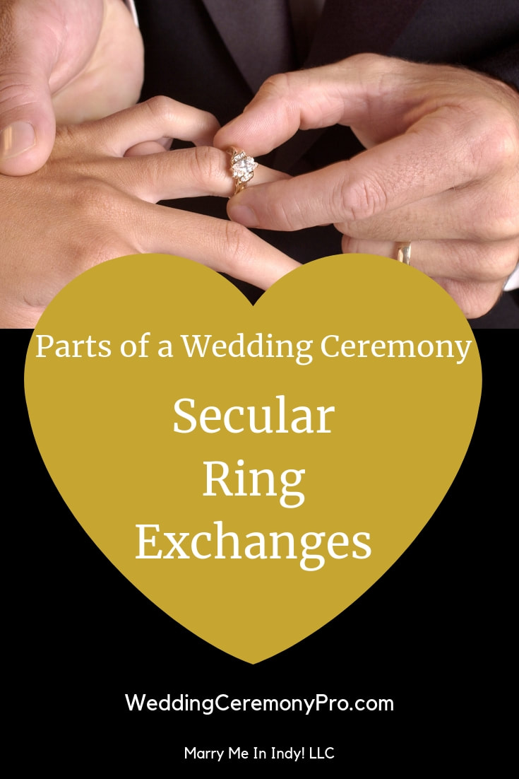 Secular,Wedding Ring Exchange Scripts and PDF's WEDDING