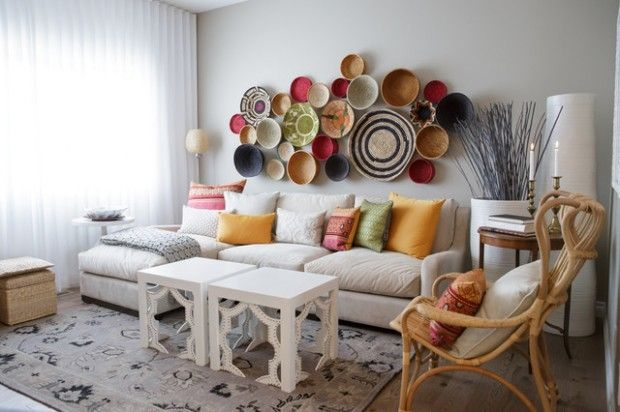 Decorating With Bowls Decorating Wall With Plates Bowls & Baskets Fashion Home Decorate