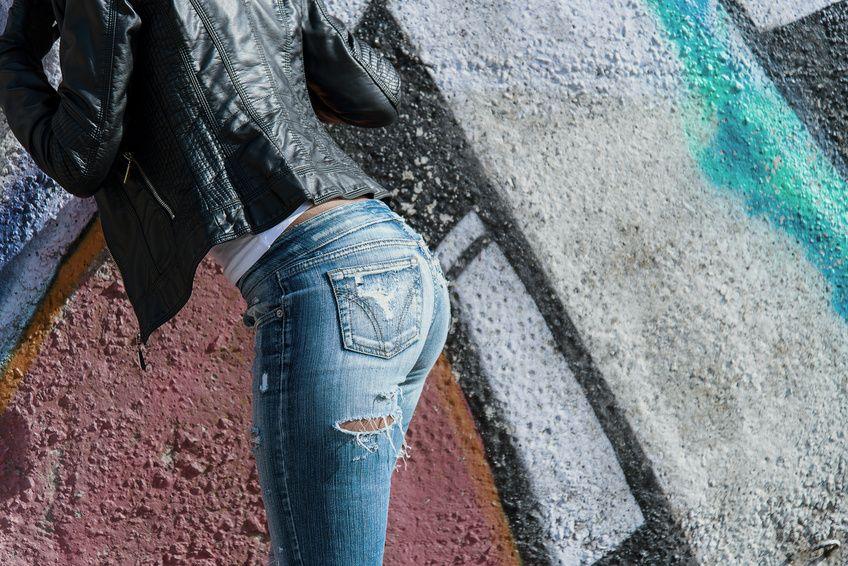 stylingtipp schwarze lederjacke mit blue jeans my. Black Bedroom Furniture Sets. Home Design Ideas