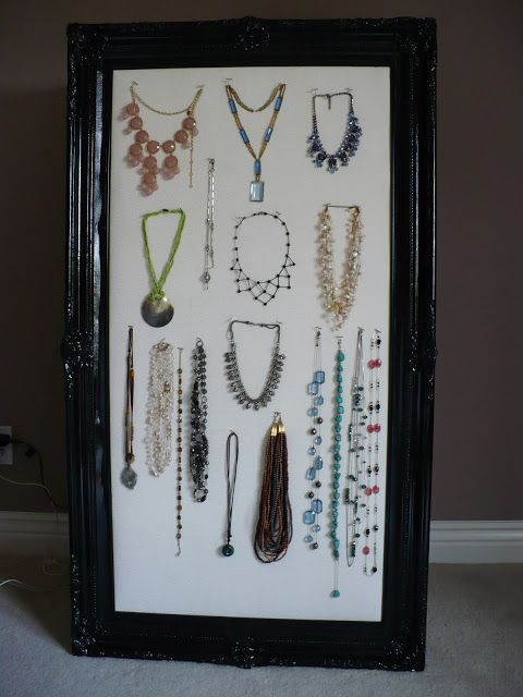 Pretty Neat Organizer My Huge Jewelry Organizer DIY Pinterest