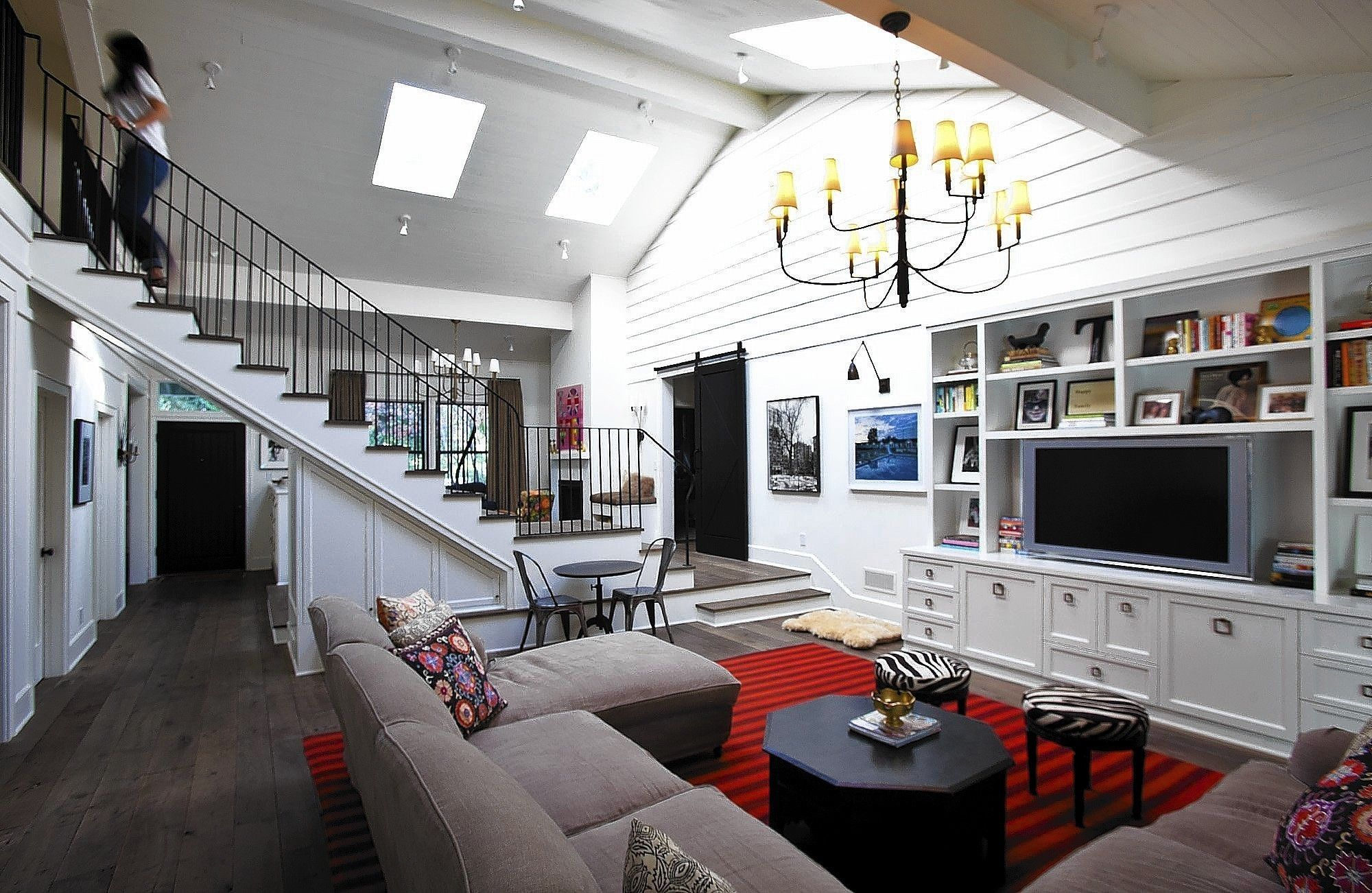 New Story Adds A New Chapter To Family Home Home Home And Family Contemporary Farmhouse