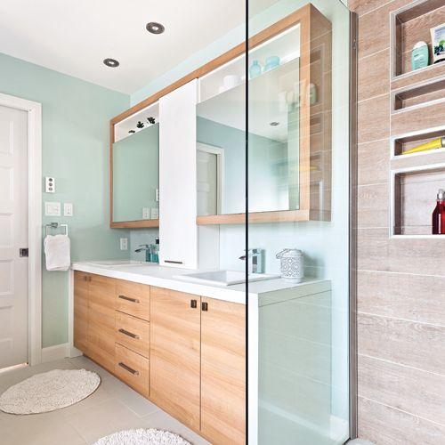 Salle de bain d\'inspiration spa zen | Salle de bain, Salle ...