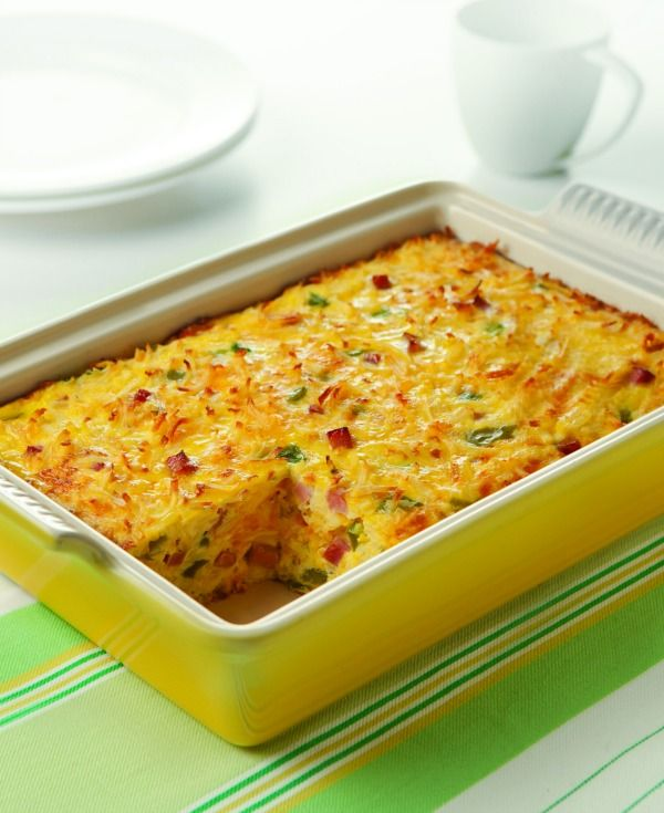 Denver Hashbrown Omelet Recipe Healthy Breakfast Casserole Breakfast Casserole Stuffed Peppers