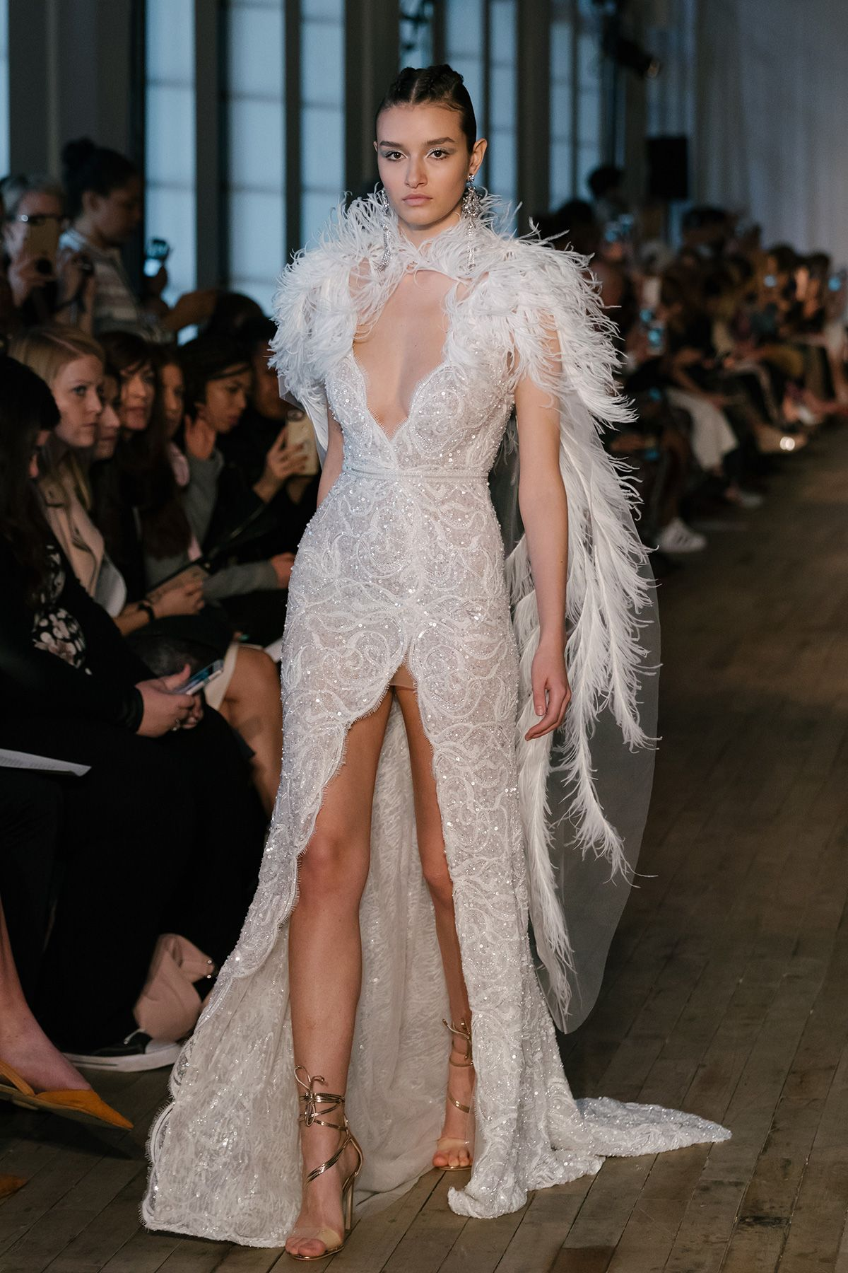 91c3aa3e9875b Bridal Fashion Week Spring 2019: BERTA Bridal S/S 2019 collection ...