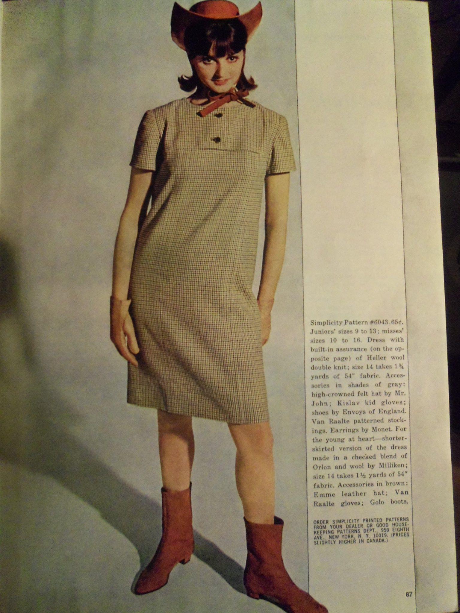 1965 Fashion spread - Mod Cowgirl