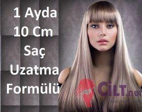 1 Ayda 10 Cm Saç Uzatma Formülü: 5 günde bir uygulanan saç uzatma formülü sayesinde 1 ayda saçlar 10 cm uzuyor. #saçgüzelliği