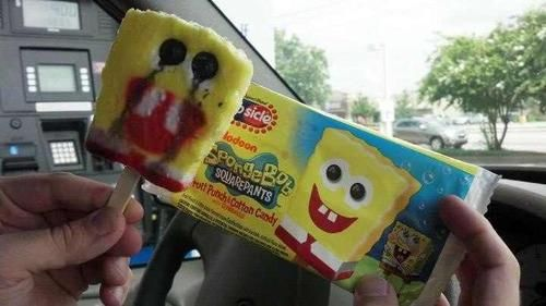 Horrifying. I can't believe I would eat those when I was little