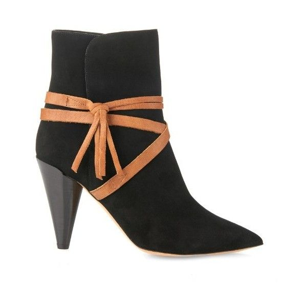 cheap sale collections the cheapest online Isabel Marant Leather Wrap-Around Ankle Boots 8Z850Mk