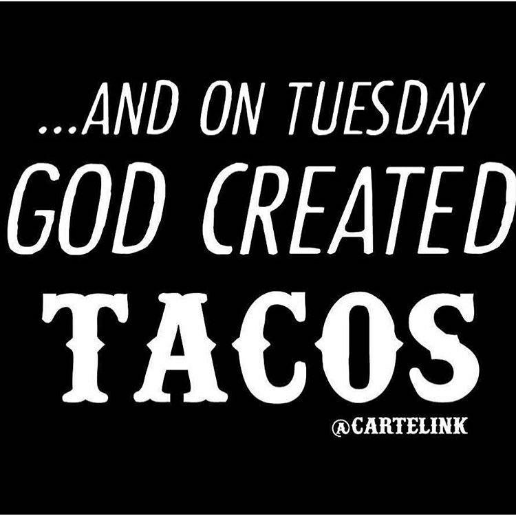 Taco Tuesday   Tuesday humor, Taco humor, Funny taco memes