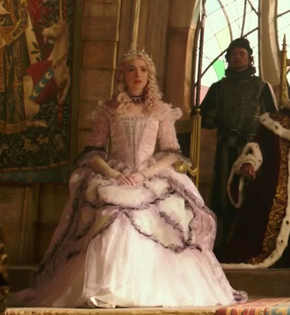 Alice Through The Looking Glass The White Queen Young Pink