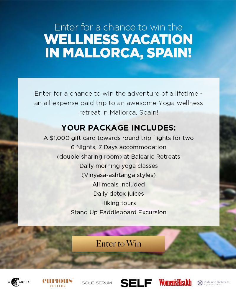 Win a Wellness Vacation to Mallorca, Spain – Ends July 23rd #sweepstakes https://www.goldengoosegiveaways.com/win-wellness-vacation-mallorca-spain-ends-july-23rd?utm_content=bufferf0806&utm_medium=social&utm_source=pinterest.com&utm_campaign=buffer