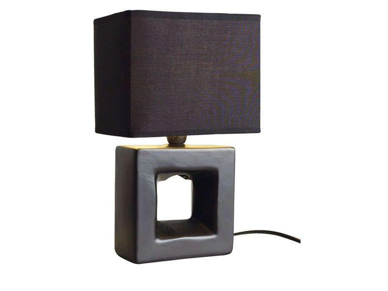 Lampe A Poser Marine Coloris Noir Vente De Lampe Conforama For