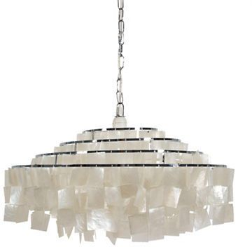 Home details capiz large ceiling light lamps pinterest ceiling home details capiz large ceiling light mozeypictures Image collections