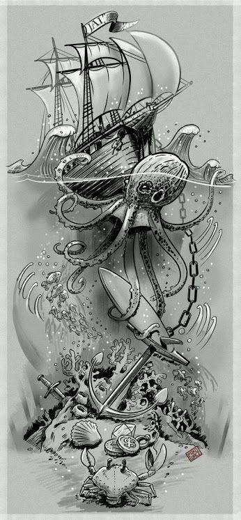 Black Art Community Google Mermaid Tattoos Ocean Theme Tattoos Full Sleeve Tattoos