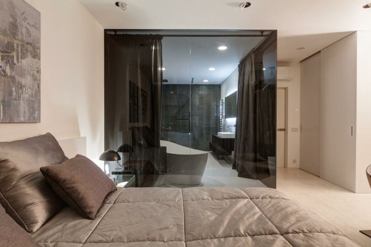 Wohnung Einrichten Grau Weiss Wandgestaltung Schlicht Wandbild
