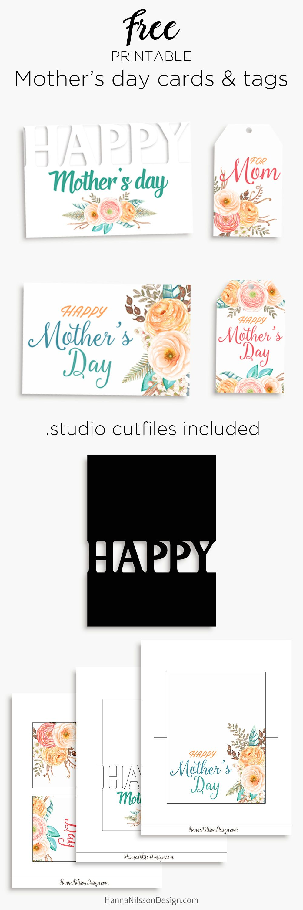 happy mother u0027s day printable cards and tags to celebrate your