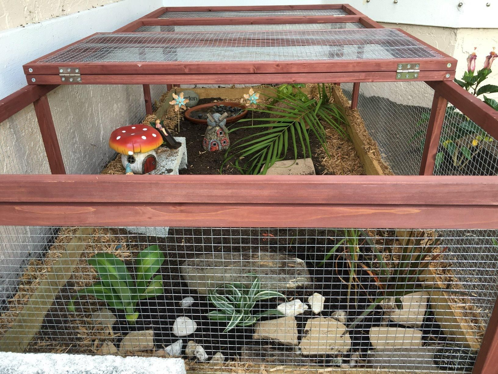 Amazon Com Advantek The Courtyard Rabbit Run Pet Habitats