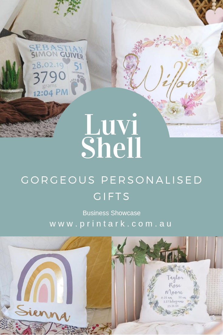 Gorgeous Personalised Gifts Luvi Shell Business Showcase Personalized Gifts For Kids Personalized Gifts Gifts From Australia