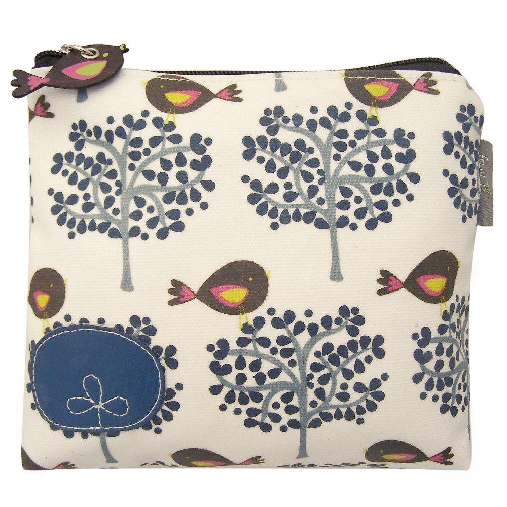 Disaster Designs Fruit Tree Bird Make-up Bag