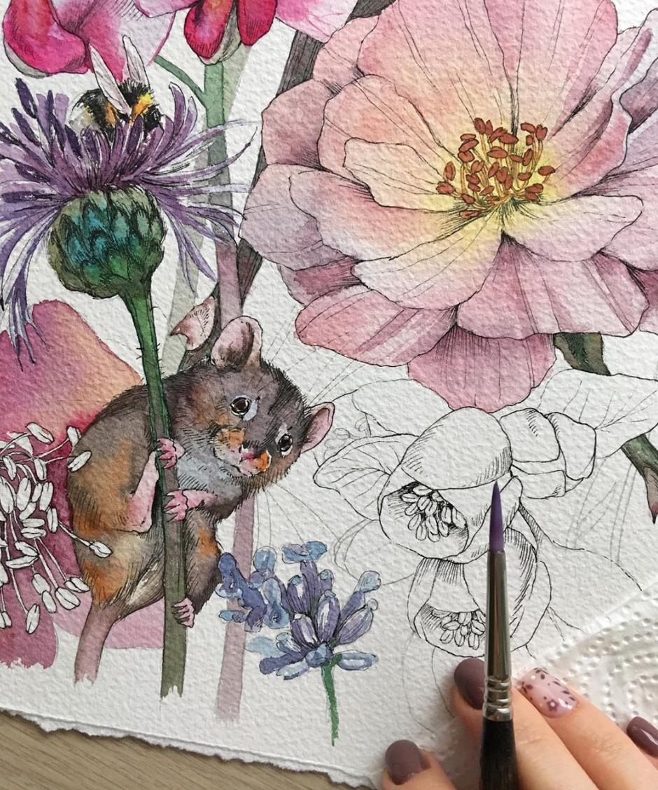 10 must-follow watercolor Instagram artists