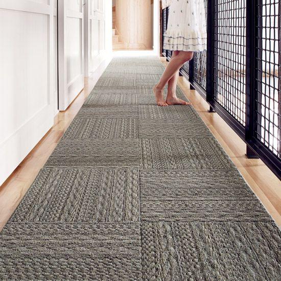 Superb Looks Like A Sweater Rug/runner | Interface FLOR Carpet Tiles