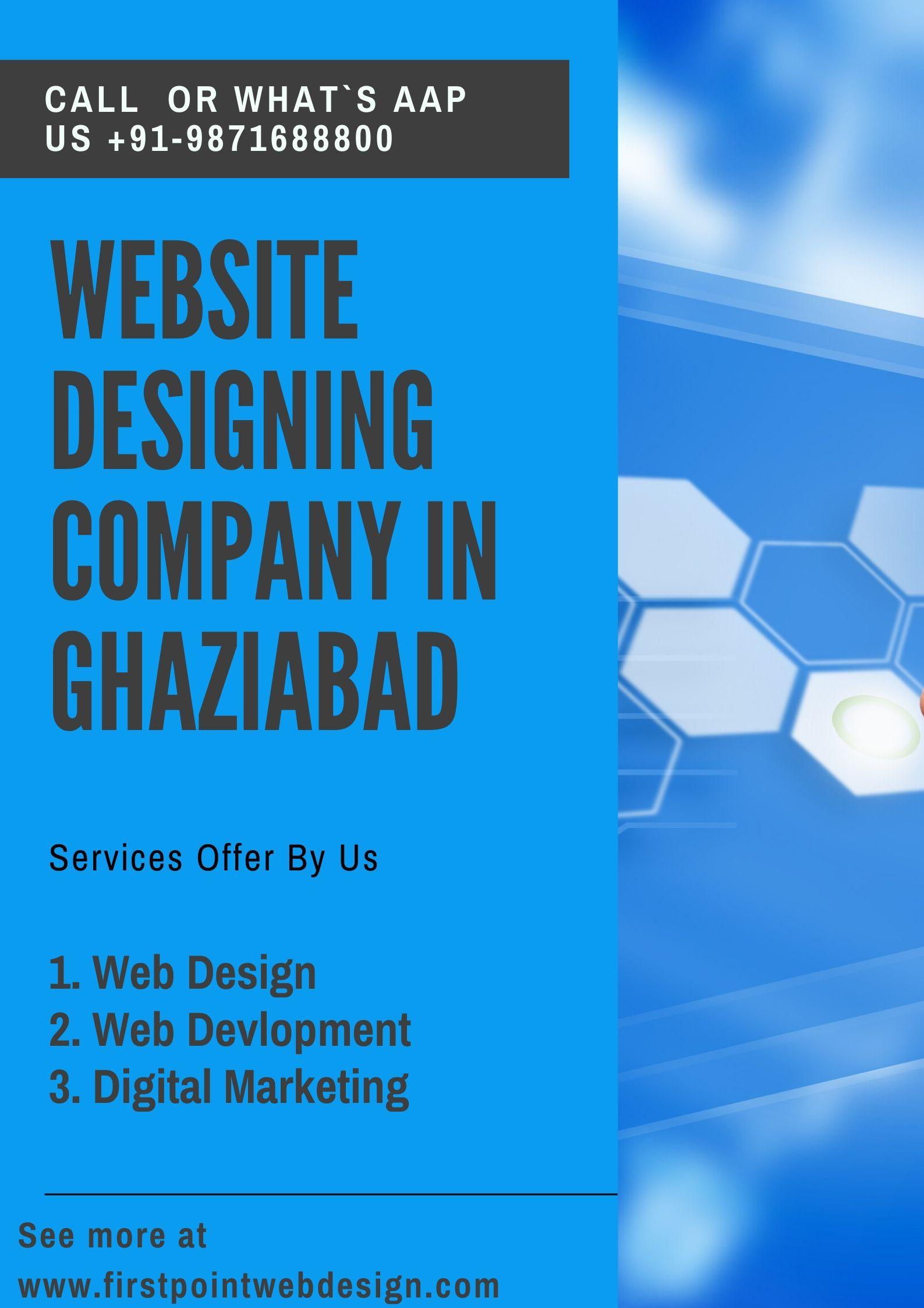 Website Designing Company In Ghaziabad In 2020 Fun Website Design Online Web Design Website Design