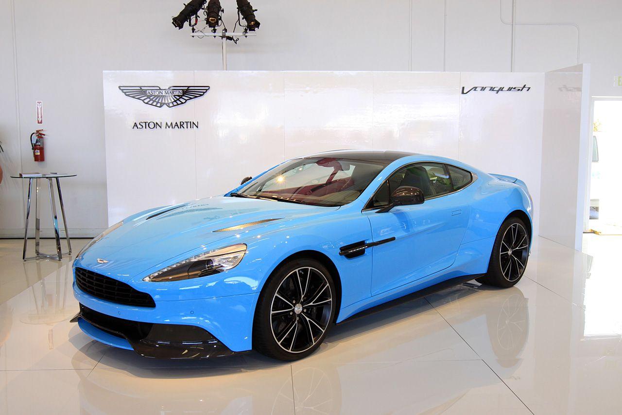 Baby Blue Aston Martin Vanquish Aston Martin Vanquish Aston Martin Aston