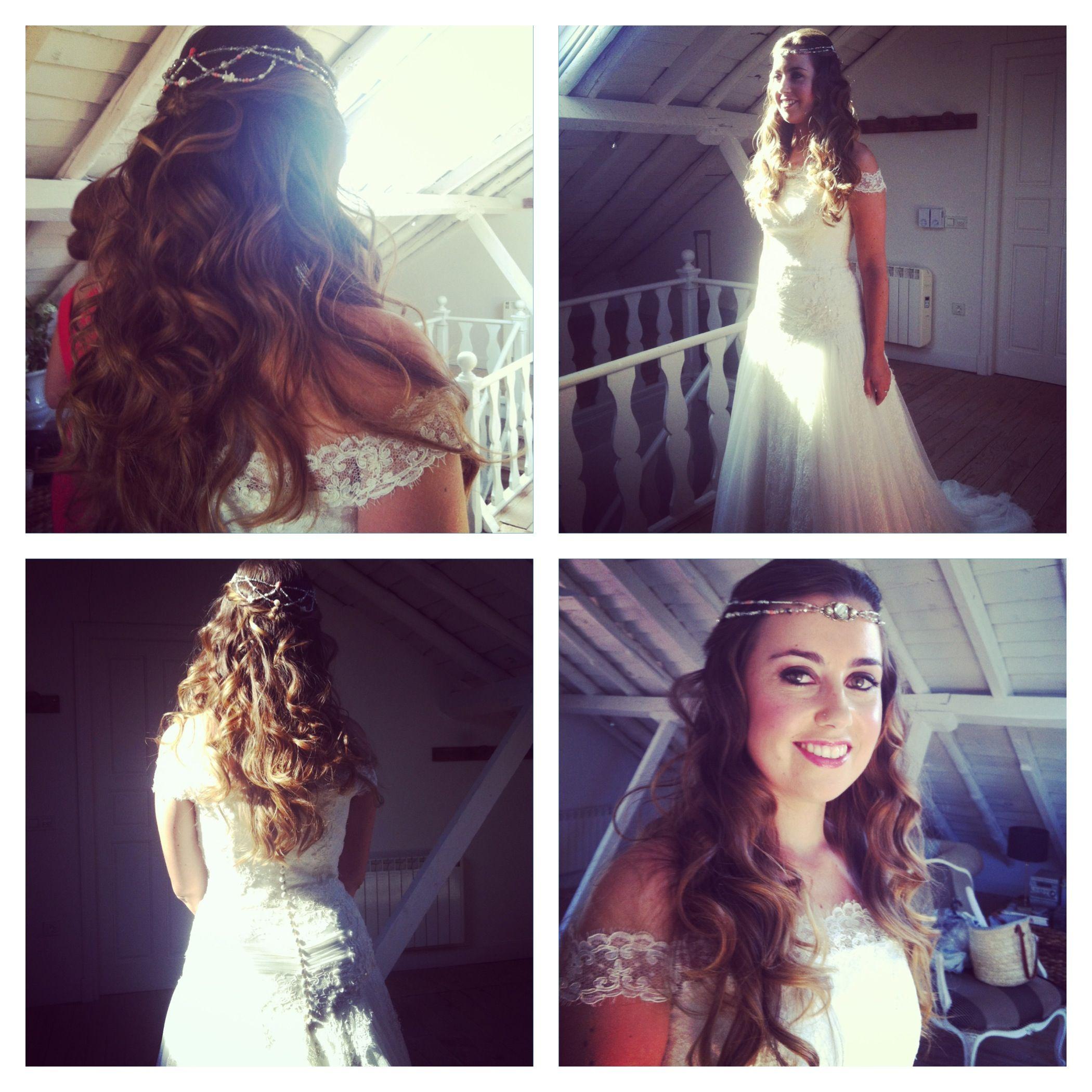 Alejandra preciosa en la Finca Adeallana. Y con una corona ideal de Suma Cruz. Otro reencuentro con Sara Lobla! Es el destino...