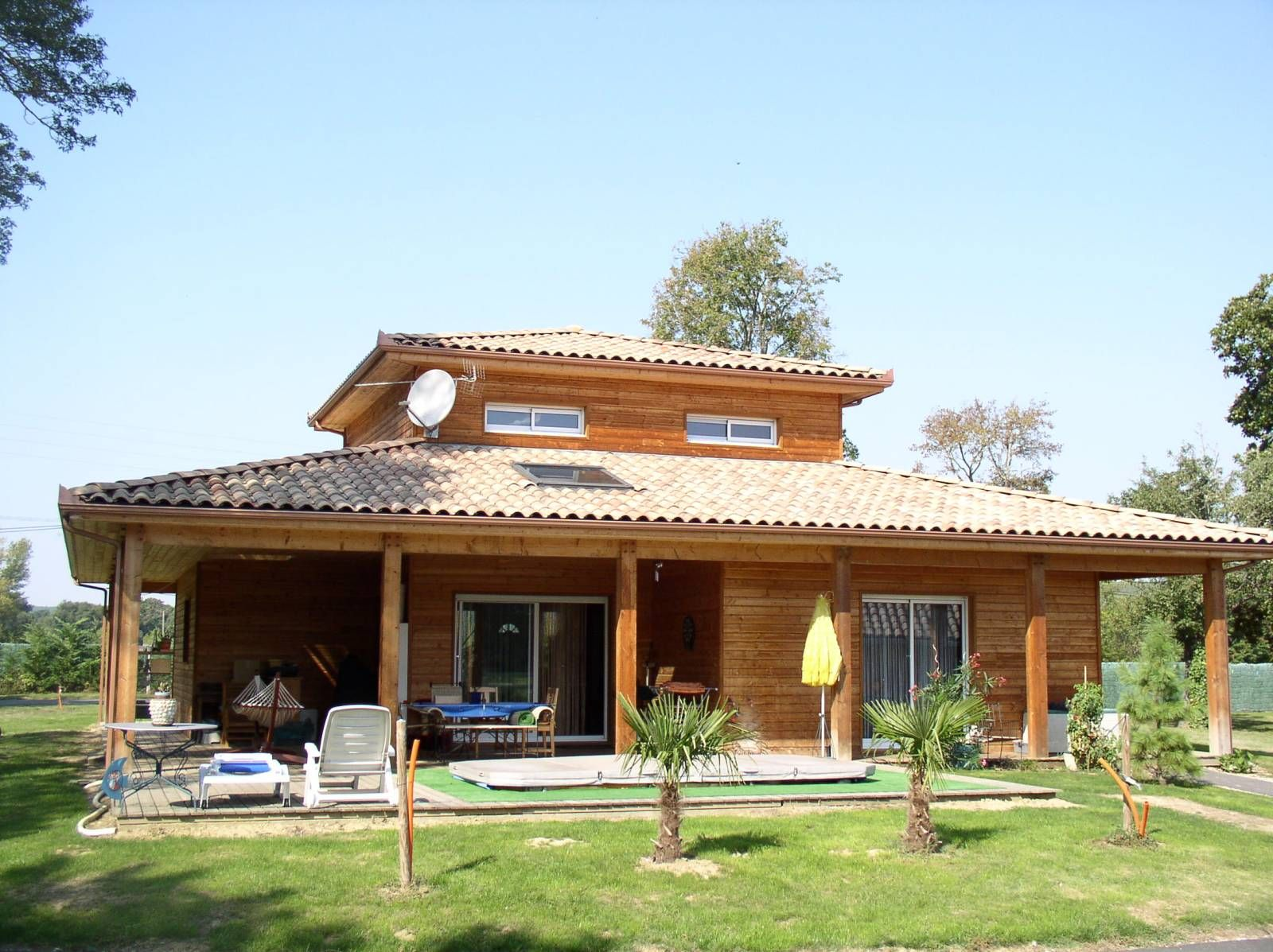 Maison construction bois 3 à côté de LIsle Jourdain (32) | Home ...