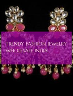 trendy fashion jewelry wholesale india