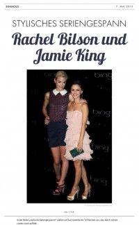 Rachel Bilson und Jamie King – Stylisches Seriengespann | Infamous Magazine