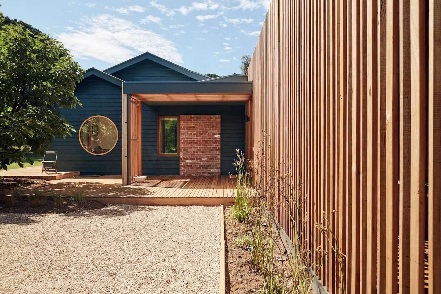 Extension To An Existing Timber Farmhouse On The Mornington