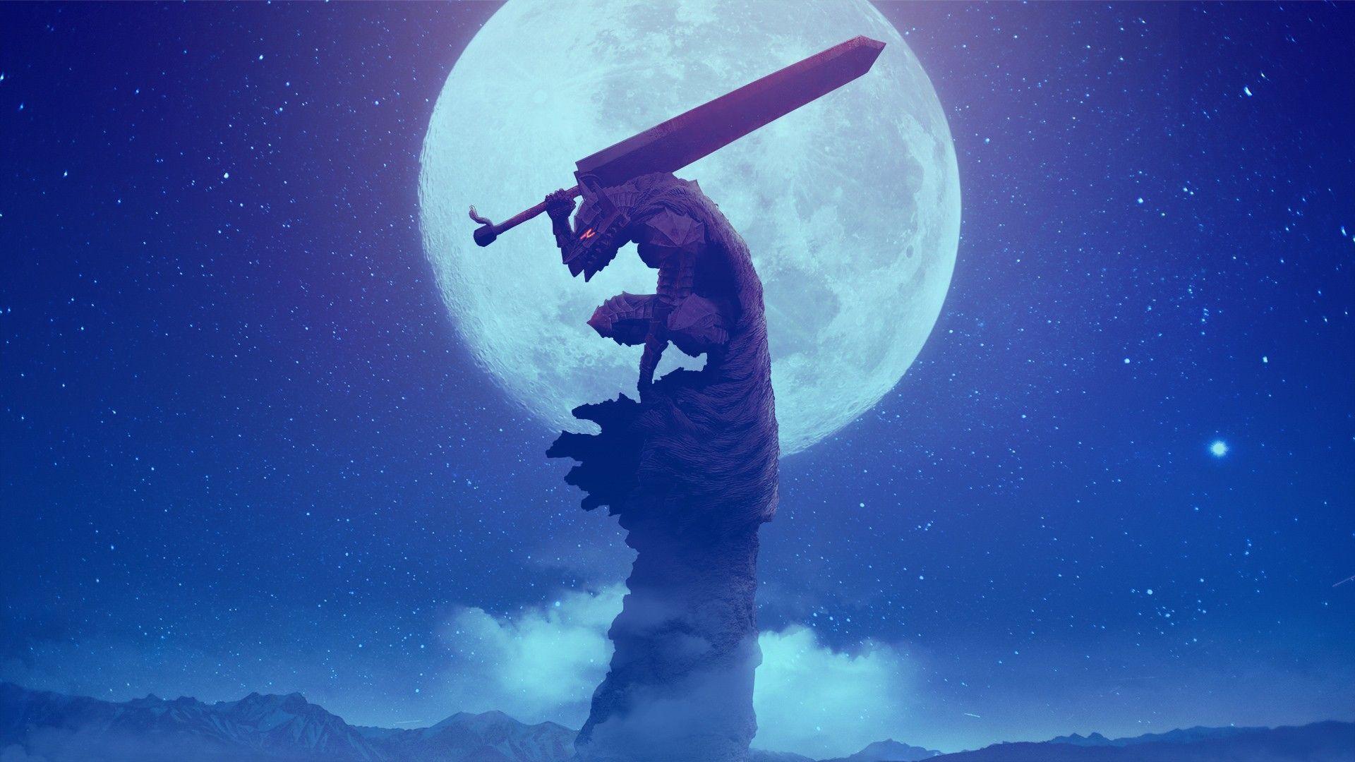 Anime 1920x1080 Berserk Black Swordsman Guts Berserk