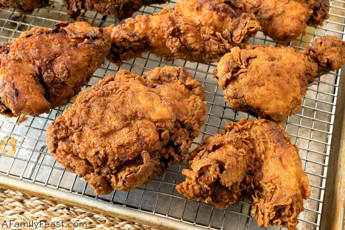 This Buttermilk Fried Chicken Recipe Is Crispy And Flavorful On The Outside And Juicy And Tender Fried Chicken Recipes Buttermilk Fried Chicken Fried Chicken