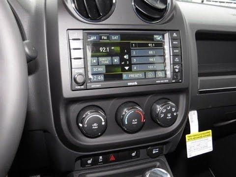 2011 2017 Jeep Compass Patriot Factory Gps Navigation Radio Upgrade R Jeep Patriot Jeep Compass Jeep